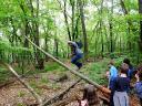…¦oder Balancieren und Hüpfen auf umgestürzten Bäumen - da hatten Klein und Groß Ihren Spaß!